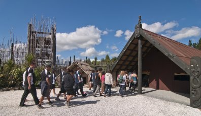 Guided Maori Village Tour 1